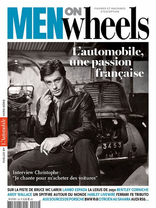 Magazine Men On Wheels